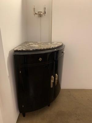 Small Corner Cupboard