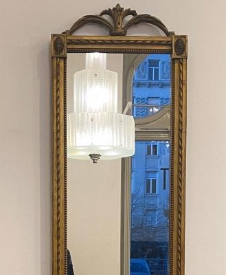 Classicistic wall mirror