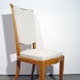 A Set of Six Art Déco Chairs