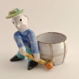 Golfer with Bowl